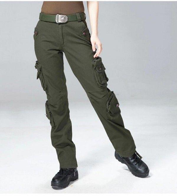 Pantalon Multibolsillo Mujer
